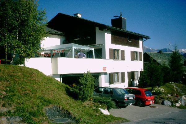 Ferienhaus 'Tgesa Montana' im Ort Parsonz-Tigignas