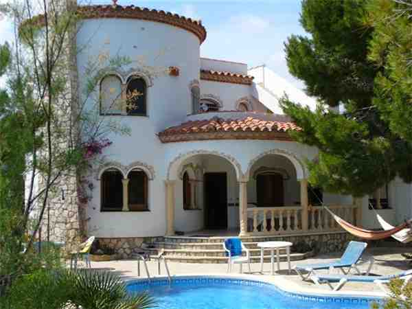 Holiday house Villa Natura, Les Tres Cales, Costa Dorada, Catalonia, Spain, picture 1