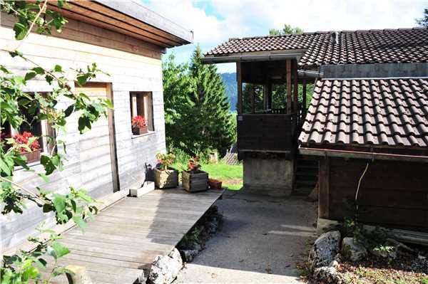 Ferienhaus 'Chalet' im Ort Les Bayards