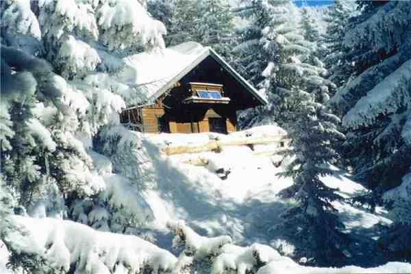 Ferienhaus 'Skihütte Wagrain' im Ort Wagrain