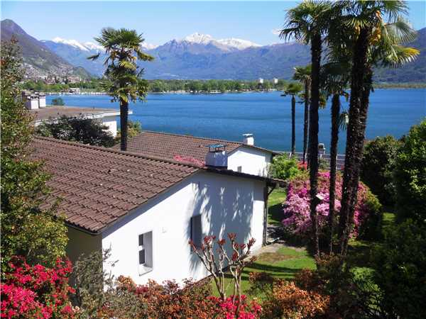 Holiday house Eco-Ferienhaus, Minusio, Lake Maggiore (CH), Ticino, Switzerland, picture 1