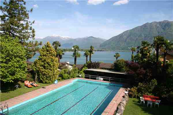 Holiday house Eco-Ferienhaus, Minusio, Lake Maggiore (CH), Ticino, Switzerland, picture 5