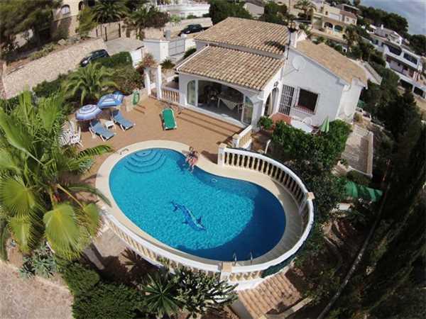 Ferienhaus 'Villa Los Leudis' im Ort Moraira