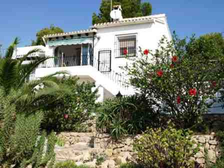 Holiday house Bungalow La Alhaja, Moraira, Costa Blanca, Valencia, Spain, picture 1