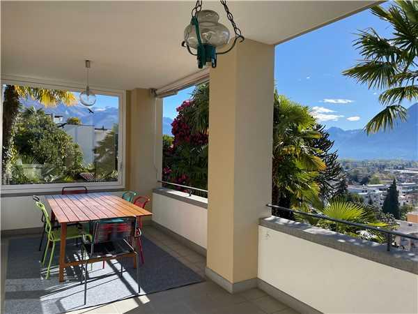 Ferienwohnung Villa Zurigo mit Seesicht, Ascona, Lago Maggiore (CH), Tessin, Schweiz, Bild 2
