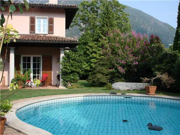 Holiday house Villa La Vignola, Locarno, Lake Maggiore (CH), Ticino, Switzerland, picture 2