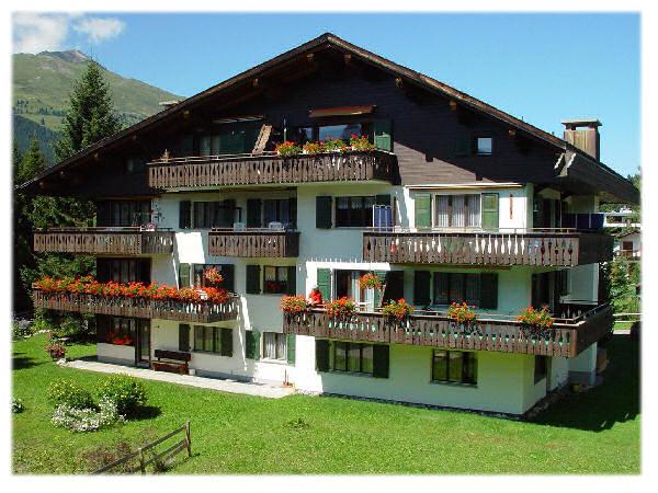 Ferienhaus 'Ferienwohnungen/Chalets' im Ort Lenzerheide-Valbella