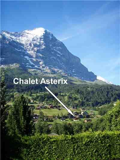 Ferienwohnung Asterix , Grindelwald, Jungfrauregion, Berner Oberland, Schweiz, Bild 2
