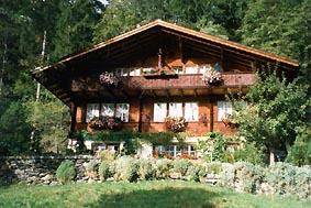 Ferienwohnung 'Waldhüüs ' im Ort Grindelwald