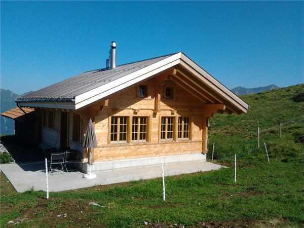 Ferienhaus 'Alphütte Chrudmettli' im Ort Axalp