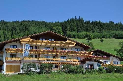 Ferienhaus 'Landhaus Wildschütz' im Ort Jungholz