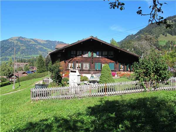 Ferienwohnung 'Chalet Hubel' im Ort Gstaad