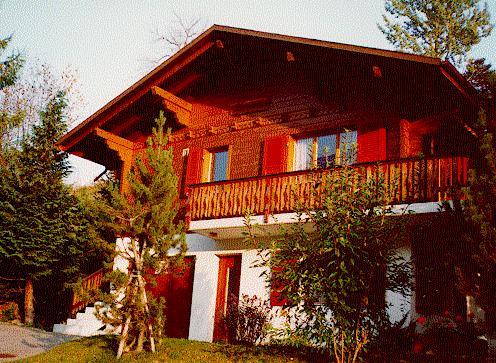 Ferienwohnung 'Chalet Bergföhre' im Ort Fiesch