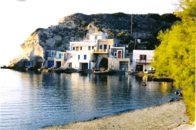 Ferienhaus 'Fischerhaus Psaras' im Ort Milos