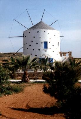 Ferienhaus 'Mühle Manolis' im Ort Antiparos
