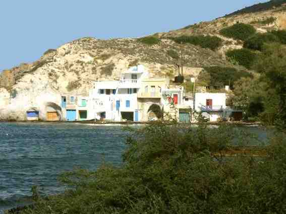 Holiday house Fischerhaus Syrma, Milos, Milos, Cyclades, Greece, picture 1