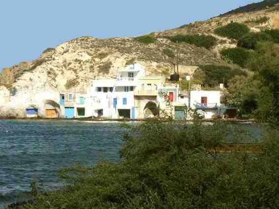 Ferienhaus 'Fischerhaus Syrma' im Ort Milos