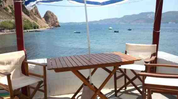 Holiday house Fischerhaus Syrma, Milos, Milos, Cyclades, Greece, picture 2