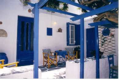 Holiday house Haus Stelios, Polonia, Milos, Cyclades, Greece, picture 1