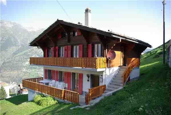 Ferienhaus 'Chalet Colette' im Ort Grächen