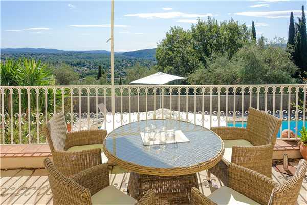 Ferienhaus Exclusive Villa mit Pool und Blick im Hinterland von Cannes, Cabris, Côte d'Azur, Provence - Alpen - Côte d'Azur, Frankreich, Bild 4