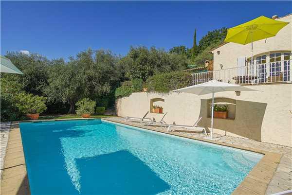 Ferienhaus Exclusive Villa mit Pool und Blick im Hinterland von Cannes, Cabris, Côte d'Azur, Provence - Alpen - Côte d'Azur, Frankreich, Bild 17