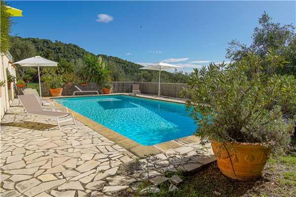 Ferienhaus Exclusive Villa mit Pool und Blick im Hinterland von Cannes, Cabris, Côte d'Azur, Provence - Alpen - Côte d'Azur, Frankreich, Bild 3