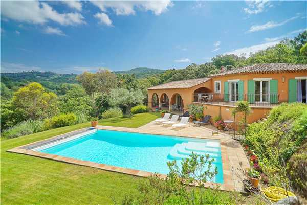 Ferienhaus 'Villa mit privatem Pool oberhalb von La Croix-Valmer in Südfrankreich' im Ort La Croix Valmer