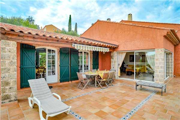 Ferienhaus Komfortable Villa für 8 Personen mit Pool, Meerblick und direkt am Strand in Südfrankreich, Carqueiranne, Côte d'Azur, Provence - Alpen - Côte d'Azur, Frankreich, Bild 20