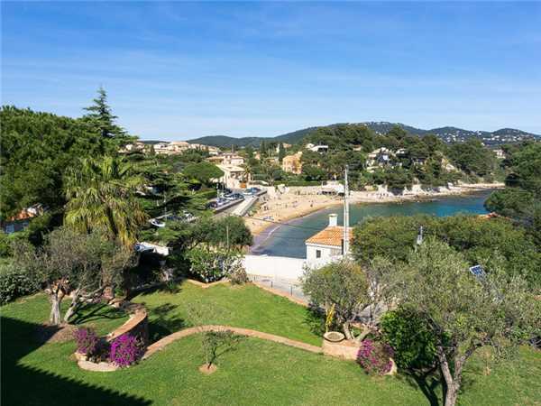 Ferienhaus Komfortable Villa für 8 Personen mit Pool, Meerblick und direkt am Strand in Südfrankreich, Carqueiranne, Côte d'Azur, Provence - Alpen - Côte d'Azur, Frankreich, Bild 4