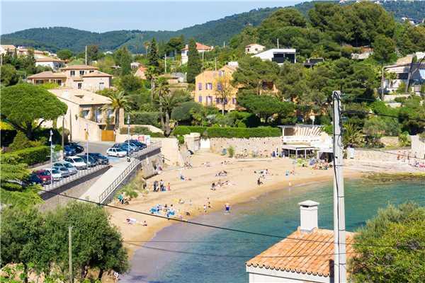 Ferienhaus Komfortable Villa für 8 Personen mit Pool, Meerblick und direkt am Strand in Südfrankreich, Carqueiranne, Côte d'Azur, Provence - Alpen - Côte d'Azur, Frankreich, Bild 3