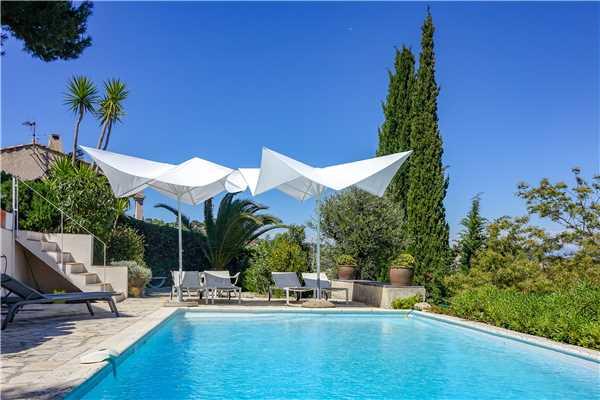 Ferienhaus 'Villa  mit privatem Pool im Hinterland von Cannes in Vallauris in Südfrankreich' im Ort Vallauris