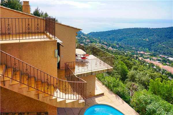 Ferienhaus Villa mit Pool und panorama Meerblick für 6 Personen in Südfrankreich, Cavalaire, Côte d'Azur, Provence - Alpen - Côte d'Azur, Frankreich, Bild 12