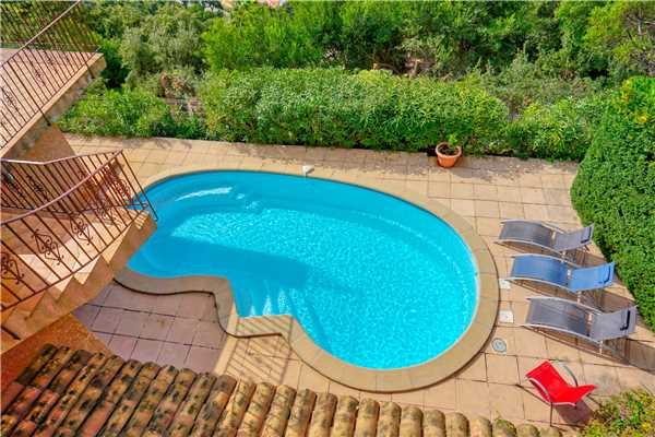 Ferienhaus Villa mit Pool und panorama Meerblick für 6 Personen in Südfrankreich, Cavalaire, Côte d'Azur, Provence - Alpen - Côte d'Azur, Frankreich, Bild 17