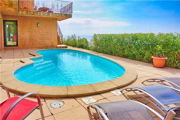 Ferienhaus Villa mit Pool und panorama Meerblick für 6 Personen in Südfrankreich, Cavalaire, Côte d'Azur, Provence - Alpen - Côte d'Azur, Frankreich, Bild 16