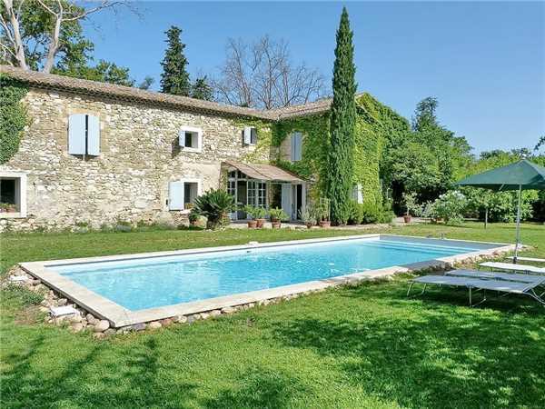 Ferienhaus 'Provenzalisches Steinhaus mit Pool bei Avignon in der Provence in Südfrankreich' im Ort Le Pontet