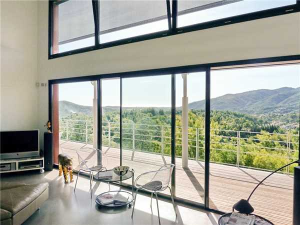 Ferienhaus Modernes Architektenhaus mit Pool und Weitblick in Auribeau an der Côte d'Azur in Südfrankreich, Auribeau sur Siagne, Côte d'Azur, Provence - Alpen - Côte d'Azur, Frankreich, Bild 4
