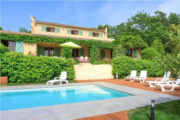 Ferienhaus 'Provenzalische Villa  mit privatem Pool und weitem Blick in La Garde-Freinet' im Ort La Garde Freinet