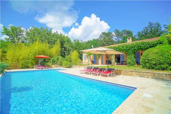 Ferienhaus 'Provenzalisches Ferienhaus mit Pool im Hinterland von der Côte d'Azur in Flayosc' im Ort Flayosc