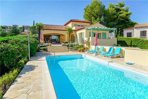 Ferienhaus 'Südfranzösische Villa mit Meerblick und Pool in St-Aygulf' im Ort Saint Aygulf