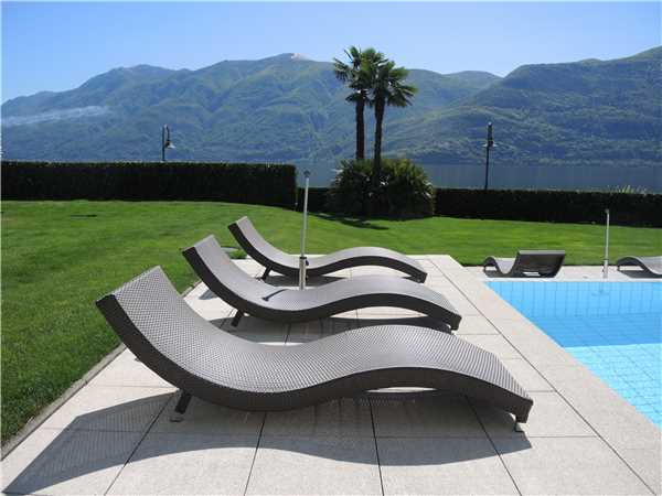 Holiday apartment Costa Smeralda, Brissago, Lake Maggiore (CH), Ticino, Switzerland, picture 1