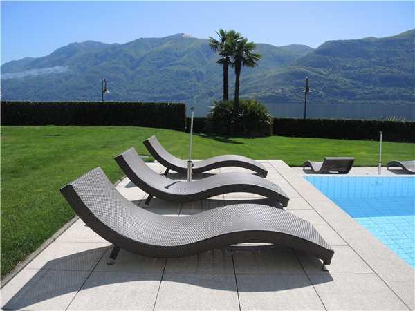 Ferienwohnung 'Costa Smeralda' im Ort Brissago