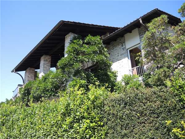 Ferienhaus Testa Nera Casa, Brione s/Minusio, Lago Maggiore (CH), Tessin, Schweiz, Bild 16
