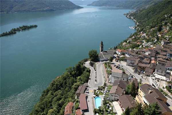 Ferienwohnung Attico Vista Lago, Ronco sopra Ascona, Lago Maggiore (CH), Tessin, Schweiz, Bild 16