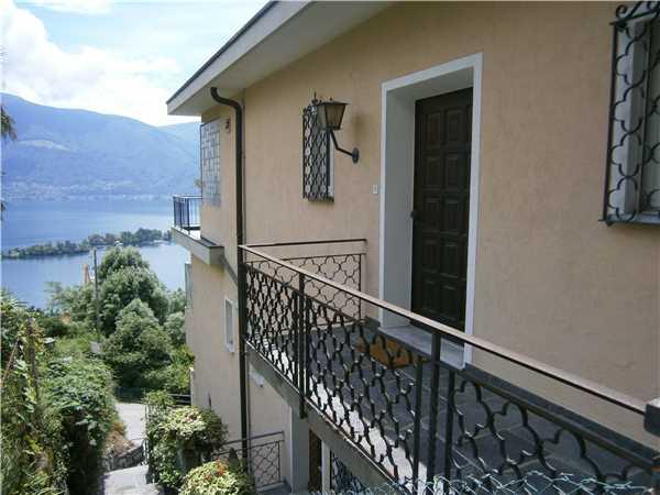 Ferienwohnung Attico Vista Lago, Ronco sopra Ascona, Lago Maggiore (CH), Tessin, Schweiz, Bild 14