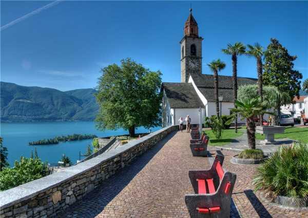 Ferienwohnung Attico Vista Lago, Ronco sopra Ascona, Lago Maggiore (CH), Tessin, Schweiz, Bild 17