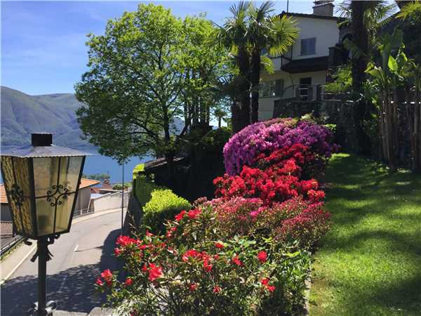 Ferienwohnung Al Pendio , Ronco sopra Ascona, Lago Maggiore (CH), Tessin, Schweiz, Bild 16