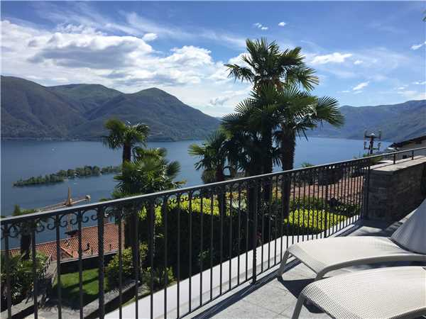 Ferienwohnung Al Pendio , Ronco sopra Ascona, Lago Maggiore (CH), Tessin, Schweiz, Bild 3