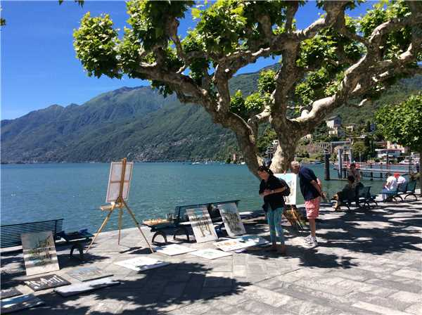 Ferienwohnung San Materno , Ascona, Lago Maggiore (CH), Tessin, Schweiz, Bild 14