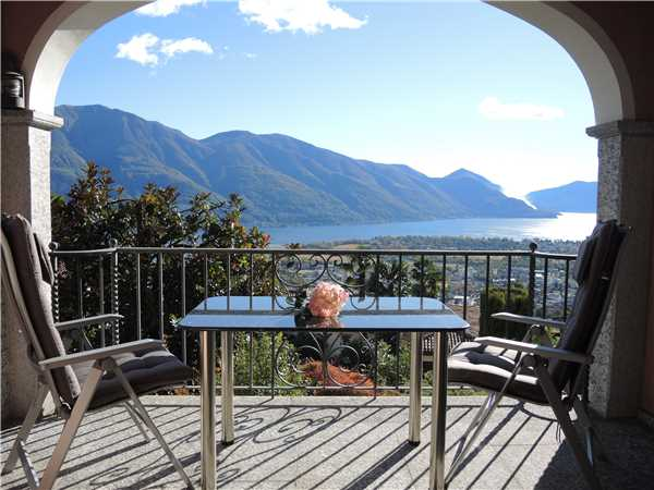 Holiday apartment Riposa, Orselina, Lake Maggiore (CH), Ticino, Switzerland, picture 1